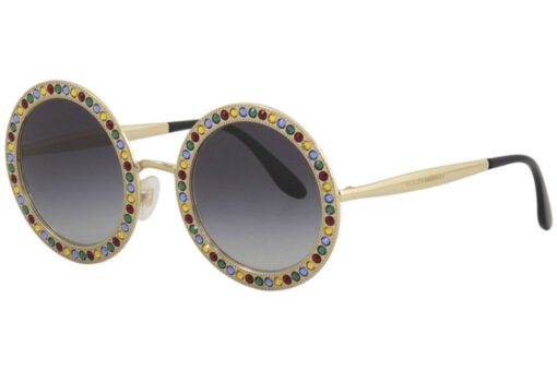dolce and gabbana womens dg2170b dg 2170b fashion round sunglasses 1 510x340 - Dolce Gabbana 2170B Modeli