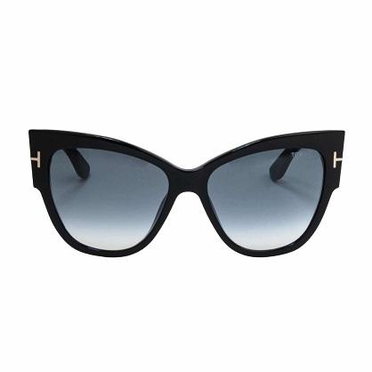 Tom Ford Sunglasses FT0371 01B 57 Anoushka Sunglasses Black 001 - Tom-Ford-Sunglasses-FT0371-01B-57-Anoushka-Sunglasses-Black-001