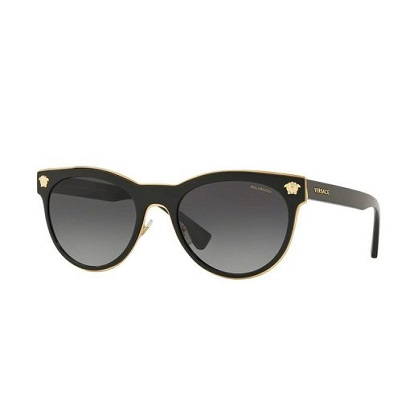 versace Black Ve2198 Polarized 1002t3 Black - Versace VE2198 Modeli